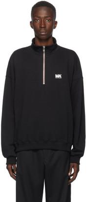 Martin Asbjorn Black Turtleneck Sweater