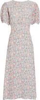 Faithfull The Brand Beline Floral Midi Dress