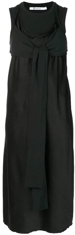 Alexander Wang fold front dress