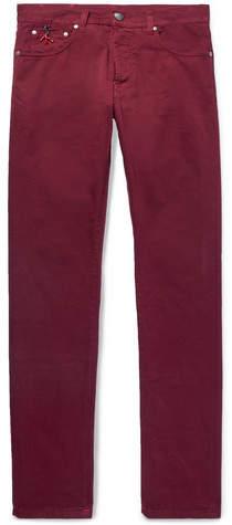 Isaia Skinny-Fit Stretch-Denim Jeans