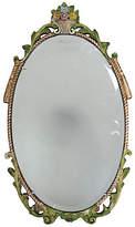 One Kings Lane Vintage English Beveled Barbola Mirror