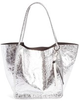 Proenza Schouler Extra Large Metallic Leather Tote - Metallic
