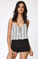 KENDALL + KYLIE Kendall & Kylie Front Lace-Up Tank Top