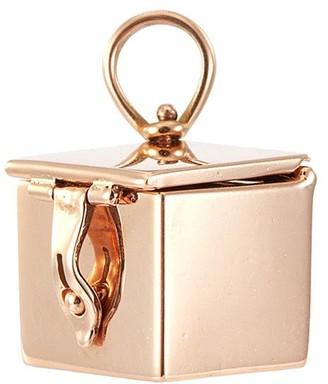 Marla Aaron 'Vinaigrette' 14k rose gold charmed box