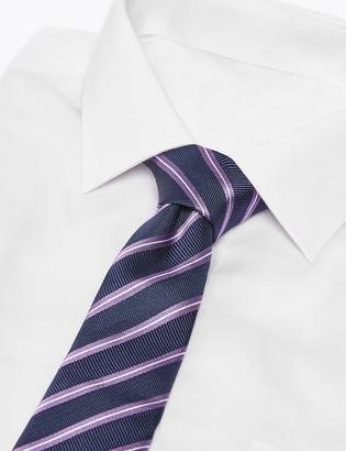 Marks and Spencer Silk Slim Striped Tie
