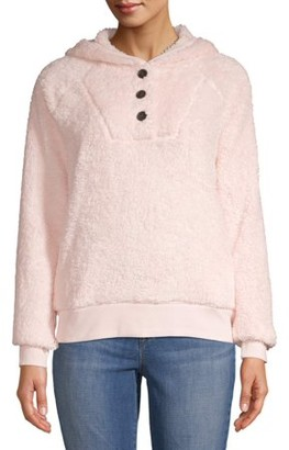 Time and Tru Women's Sherpa Pullover