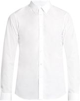 Jil Sander Point-collar cotton-poplin shirt