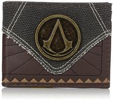 Bioworld Men's Assassins Creed Suit Up Bi-fold Wallet