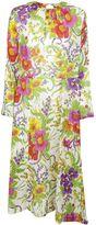 Balenciaga Floral Printed Dress