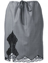 Alexander Wang lace trim skirt