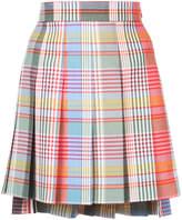 Thom Browne Fun Mix plaid skirt