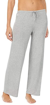 Lauren Ralph Lauren Separate Ankle Pajama Pants (Grey Dot) Women's Pajama