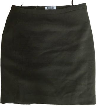 Marella Green Cotton Skirt for Women