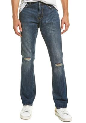 John Varvatos Bowery Fit Medium Blue Slim Straight Leg