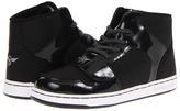 Creative Recreation Y Cesario (Little Kid) (Black Patent Ripstop) - Footwear