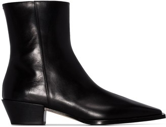 AEYDĒ Ruby ankle boots