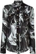 Balmain printed shirt - women - Silk/Cotton - 38