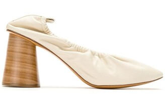 Studio Chofakian elasticated opening pumps