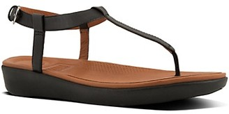 FitFlop Tia Leather T-Strap Sandals