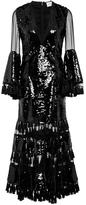 Sachin + Babi Galanta Sequin Midi Dress