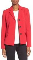 Ellen Tracy Women's Piped Seam Jacket