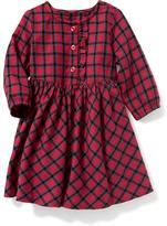 Old Navy Plaid Flannel Dress for Baby