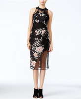 GUESS Alaura Mixed-Media Dress