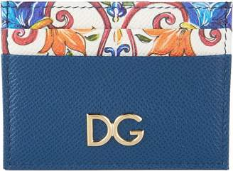 Dolce & Gabbana Grained Leather Card Holder