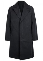 Saturdays NYC Clyde Black Brushed Polyester Coat