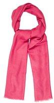 Loro Piana Pink Cashmere Scarf