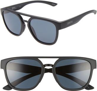 Smith Agency 54mm ChromaPop(TM) Polarized Flat Top Sunglasses