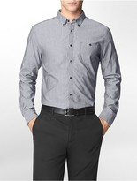 Calvin Klein Slim Fit Barstripe Dobby Shirt
