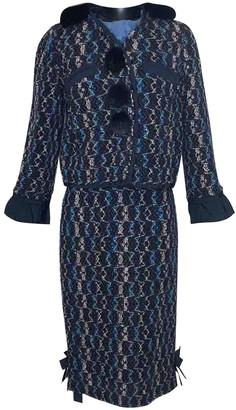 Louis Vuitton Navy Wool Knitwear for Women