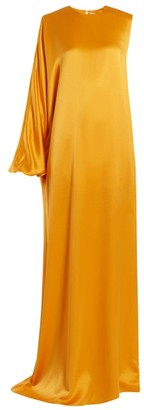 Roksanda Delmira One-shoulder Satin Gown - Orange