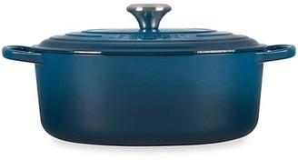 Le Creuset 6.75-Quart Signature Cast Iron Oval Dutch Oven