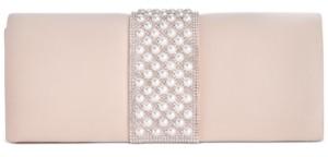 Giani Bernini Pearl Ribbon Clutch, Created for Macy's