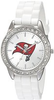 Game Time NFL Women's 10027071 Frost Analog Display Japanese Quartz White Watch