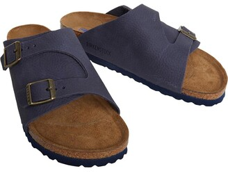 Birkenstock Zurich Narrow Fit Sandals Steer Indigo