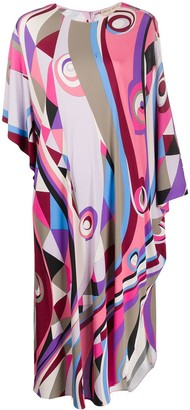 Emilio Pucci Abstract Print Dress