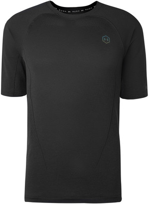 Under Armour Ua Rush Mesh-Panelled Compression T-Shirt
