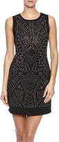 Dex Black Embellished Dress