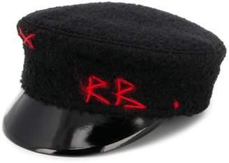 Ruslan Baginskiy Logo Embroidered Baker Boy Hat