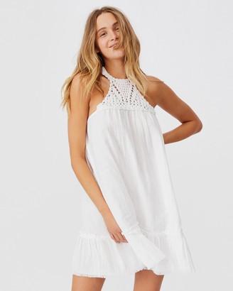 Cotton On Woven Heidi Halter Neck Mini Dress
