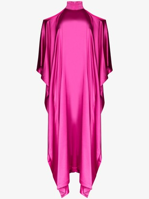 Taller Marmo La Divina cold-shoulder maxi dress