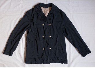 Fay Black Trench Coat for Women