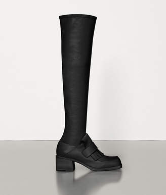 Bottega Veneta BOOTS IN BERRY CALF AND NAPPA