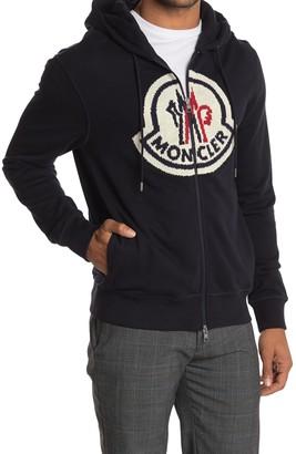 Moncler Knit Logo Hoodie