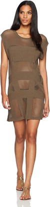 Jets Women's Parallels Shift Dress Cover Up