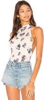 Clayton Gianna Bodysuit in Cream. - size L (also in M,S,XS)