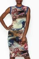 Petit Pois Printed Dress